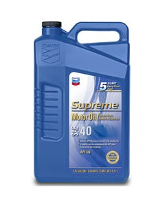 Chevron Supreme Motor Oil SAE 40 - 1.25 AG