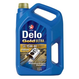 Delo Gold Ultra SAE 15W-40 Heavy Duty Diesel Engine Oil - 5AG