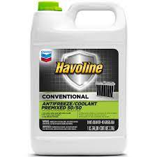 Chevron Havoline Conventional Antifreeze/Coolannt Premixed 50/50 - 1 Gallon (CASE)