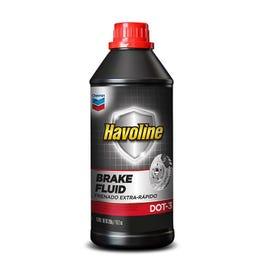 Chevron Havoline Brake Fluid DOT-3 - 12OZ