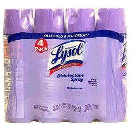 Lysol Disinfectant Spray, Early Morning Breeze, 19 Oz, 4 Ct (Piece)