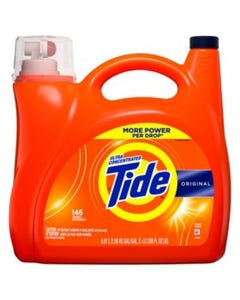 Tide Ultra Concentrated Original Liquid Laundry Detergent - 200 oz (Piece)