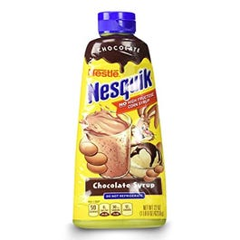 NESQUIK CHOCOLATE SYRUP - 22 OZ