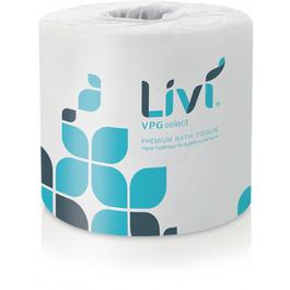 Livi VPG Select Bath Tissue - 500 Sheets (CASE)