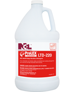 ProLEX LTD-220 HD Multi-Temp Machine Detergent - 5 Gallon (Piece)