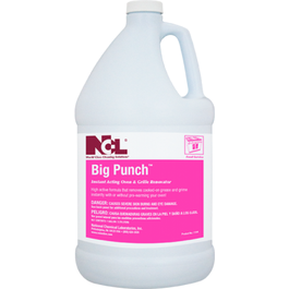 Big Punch Instant Acting Oven & Grill Cleaner  - 1 Qtr (CASE)
