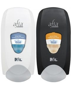 Afia Manual Soap Dispenser  - White (Piece)