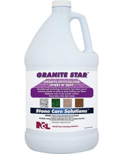 Granite Star Crystallizer Spray N' Buff - 1 Gallon (CASE)