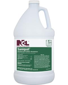 Saniquat Disinfectant Sanitizer Deodorizer - 1 Gallon (CASE)
