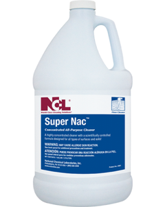 Super Nac Concentrated All-Purpose Cleaner-1 Gallon (CASE)