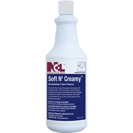 Soft N' Creamy Deodorizing Crème Cleanser - 1 Qtr (CASE)