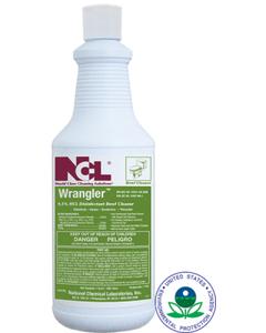 Wrangler Disinfectant Bowl & Porcelain Cleaner - 1 Qtr (CASE)