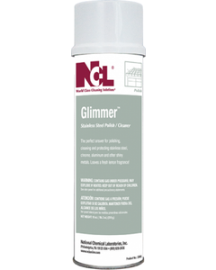 Glimmer Stainless Steel Polish Cleaner - 20 OZ (CASE)