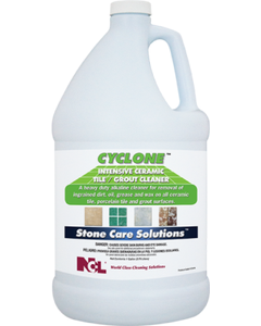 Cyclone Intensive Ceramic Tile & Grout Cleaner (Bottle) - 1 Gallon (CASE)