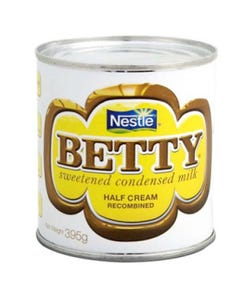 Nestle Betty Sweetened condensed Milk - 395 Grams (CASE)