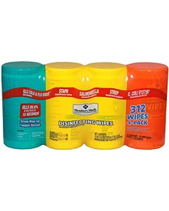 Member's Mark Disinfecting Wipes Variety Pack - 74 Count (CASE)