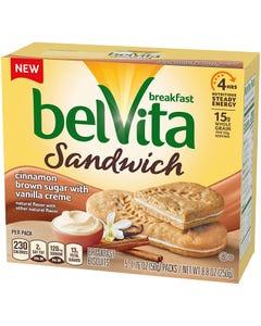 BELVITA SANDWICH CINBS VANILLA - 8.8 OZ (CASE)