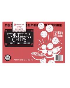 MM RND YLW TORTILLA CHIP - 48 OZMember's Mark Round Yellow Tortilla Chips (48oz., 2pk.) (CASE)