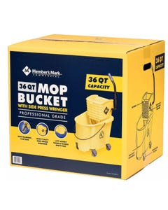 Member's Mark Commercial Mop Bucket with Wringer (Piece)