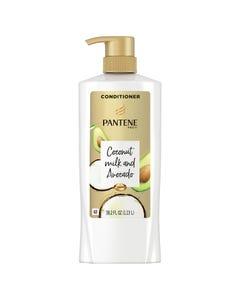Pantene Pro-V, Coconut Milk & Avocado Moisturizing Conditioner for Dry Hair - 38.2 fl. oz. (Piece)