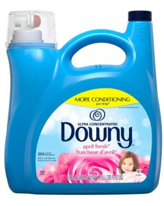 Downy Ultra Liquid Fabric Conditioner, April Fresh (138 fl. oz., 204 loads) (Piece)