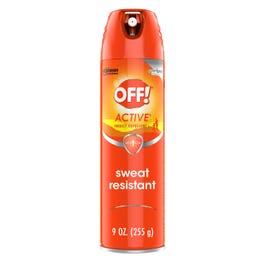 OFF SPRAY ACTIVE 12/9 OZ - 9 OZ (CASE)