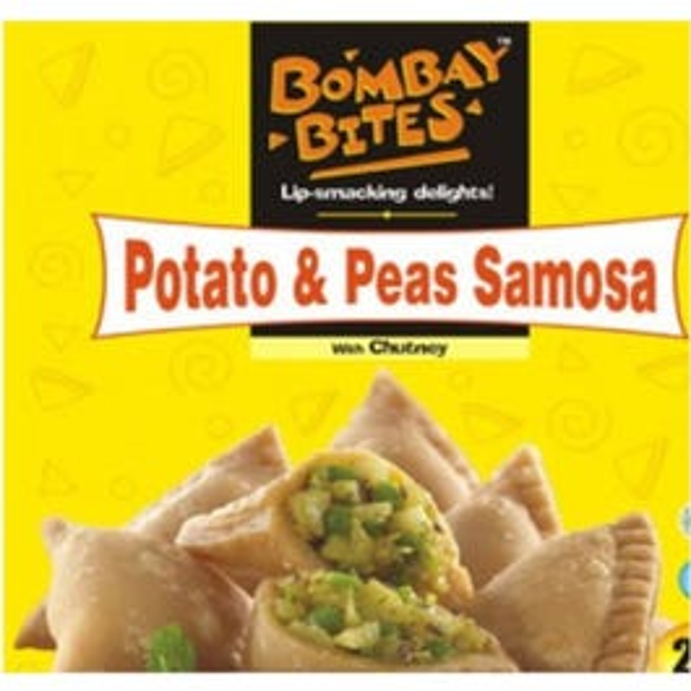Bombay Bites Potato and Peas Samosa - 440 GM (CASE)
