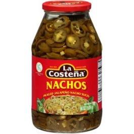 La Costeña Pickled Jalapeño Nacho Slices (64 oz.) (Piece)