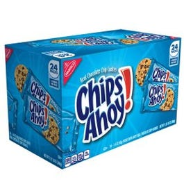 CHIPS AHOY! Chocolate Chip Cookies (24 Snack Packs) (Piece)