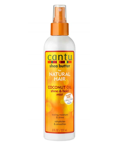 Cantu Shea Butter Coconut Oil Shine and Hold Mist - 8 Oz (Piece)