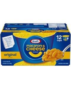 Kraft Easy Mac Macaroni & Cheese Cups (2.05 oz., 12 ct.) (CASE)