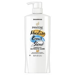 Pantene Pro-V Ultimate Care Moisture + Repair + Shine Shampoo for Damaged Hair and Split Ends (38.2  (Piece)