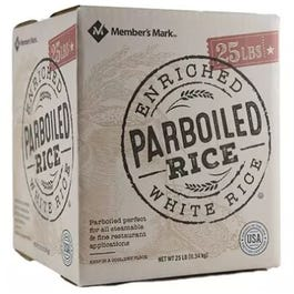 Member's Mark Parboiled White Rice - 25 Lbs (Piece)
