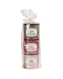 Carolina Nut Company Gourmet Peanut Towers - Container Assorted Flavors : 3*10oz  (Piece)