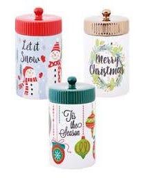 Christmas Cookie Jar - 10.56 oz  (Piece)