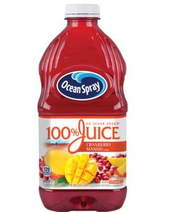 Ocean Spray 100% Cranberry Mango Juice - 60 oz (CASE)