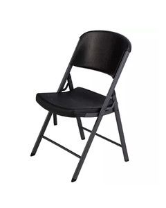 Lifetime Folding Chair, Black - Unit (Piece)